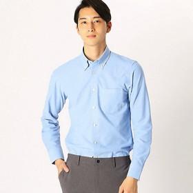 <COMME CA ISM (メンズ)> 長袖ジャージーシャツ(4713HL04) サックス【三越・伊勢丹/公式】