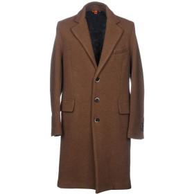 《期間限定セール開催中!》BARENA メンズ コート ブラウン 52 80% ウール 20% ナイロン