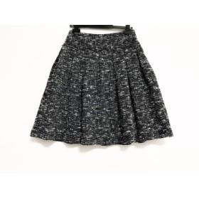 【中古】 トゥービーシック TO BE CHIC スカート サイズ40 M レディース 美品 黒 白