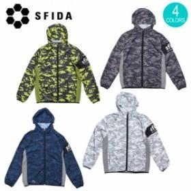 SFIDA スフィーダ スターカモウーブンフードジャケット SA-19S01