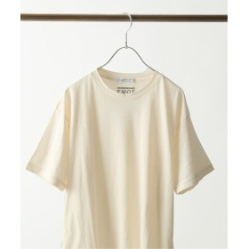 JOURNAL STANDARD 【メンフィスコットン】 クルーネック Tシャツ ナチュラル S