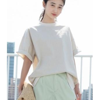 ビス/【WEB限定】綿麻オーバーサイズプルオーバー/キナリ/F