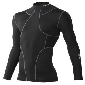 皮膚感覚 TX2 オールインワン ロングスリーブシャツ [男女兼用] #400405 (日本製) ブラック(Sサイズ)/1点入り(代引き不可)