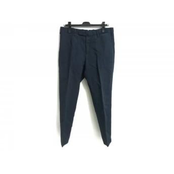 【中古】 インコテックス INCOTEX パンツ サイズ48 XL メンズ ネイビー
