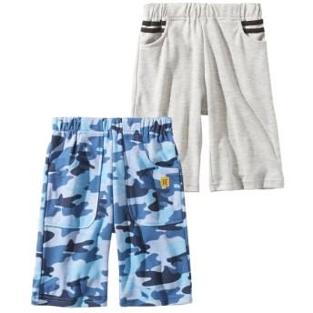ショートパンツ2枚組(男の子 子供服) パンツ