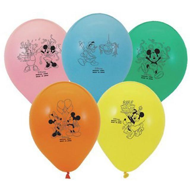 ディズニー ミッキー&フレンズ 5個入りバルーン