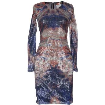 《セール開催中》MSGM レディース ミニワンピース&ドレス ブルー 40 ポリエステル 100%