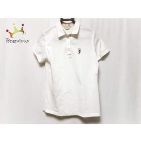 アダバット Adabat 半袖ポロシャツ サイズ40 M レディース 白×ピンク×マルチ   スペシャル特価 20190727