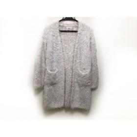 【中古】 ミーア Miia コート サイズF レディース 美品 白 マルチ 冬物