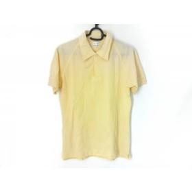 【中古】 ポールスミス PaulSmith 半袖ポロシャツ サイズS メンズ アイボリー