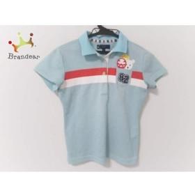 キャロウェイ CALLAWAY 半袖ポロシャツ レディース ライトブルー×白×マルチ 新着 20190418