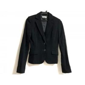 【中古】 バーニーズ BARNEYSNEWYORK ジャケット サイズ36 S レディース 黒