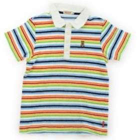 【ミキハウス/mikiHOUSE】ポロシャツ 140サイズ 女の子【USED子供服・ベビー服】(374199)