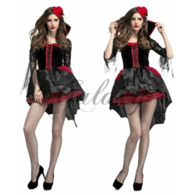ハロウィン 魔女 デビル 小悪魔 魔法使い ウィッチ 中世ヨーロッパ風 仮装 コスチューム 衣装ps3134