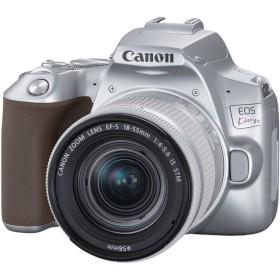 CANON EOS Kiss X10 EF S18-55 IS STM シルバー [デジタル一眼レフカメラ (2410万画素)] デジタル一眼カメラ
