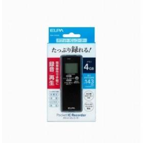 ELPAICレコーダー4GADK-ICR500【送料無料】