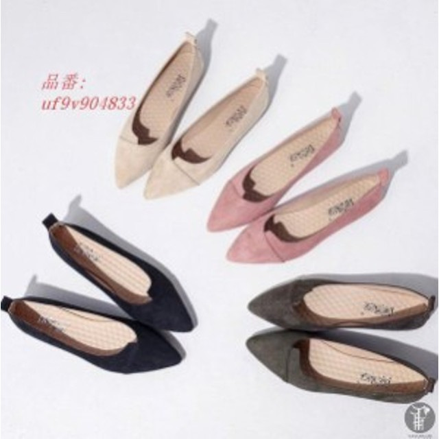 a3330fd09a2cd6 痛くないパンプス ローヒールパンプス モカシン フラットパンプス 低ヒール 婦人靴 レディース シューズ レディース フラット