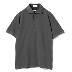 CORSINI / ヴィンテージ ウォッシュ ポロシャツ メンズ ポロシャツ 004チャコール L