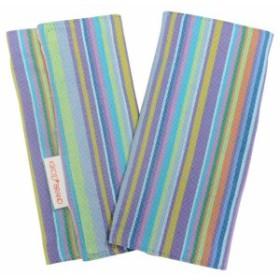 キコイ よだれパッド ブルー KIZ0101-PAD-BL 綿100% 20×18cm