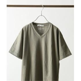 JOURNAL STANDARD 【メンフィスコットン】 Vネック Tシャツ カーキ S