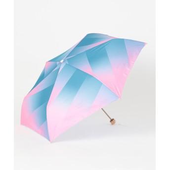 【オンワード】 MOONBAT(ムーンバット) estaa 折りたたみ傘 UV あめあがり ピンク F レディース 【送料無料】