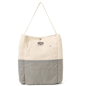<UNISEX>BAG'n'NOUN / LINED ツールバッグ ミニ メンズ トートバッグ WHITE/GREY ONE SIZE