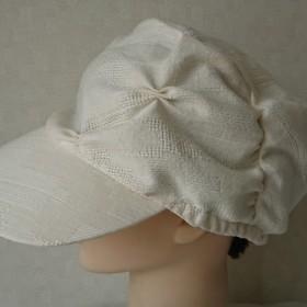魅せる帽子☆ゆるゆるふわり♪リバーシブルキャスケット