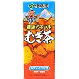 伊藤園 健康ミネラルむぎ茶 紙パック 250ml×24本 1ケース 麦茶 むぎ茶(代引き不可) 【送料無料】