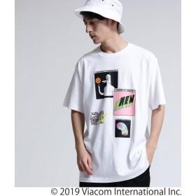 tk.TAKEO KIKUCHI(ティーケー タケオ キクチ) MTV × tk.TAKEO KIKUCHI コラージュTシャツ