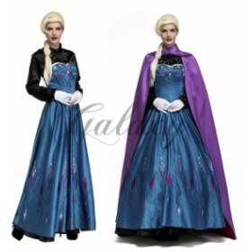 ハロウィン  女王 お姫様 プリンセス マント付き ダンス イベント パーティー ステージ コスプレ衣装 ps3158