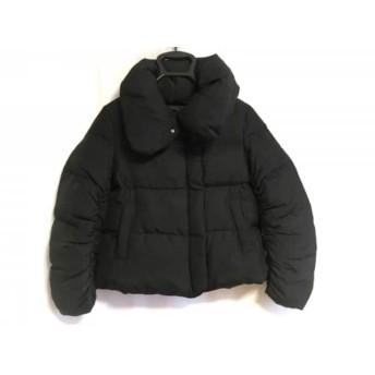 【中古】 ニジュウサンク 23区 ダウンジャケット サイズ34 S レディース 黒 冬物