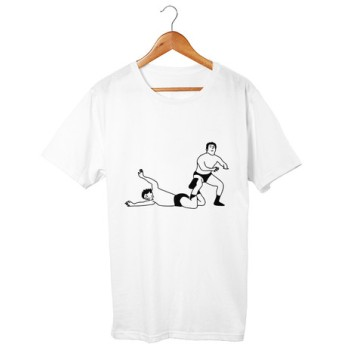 プロレスTシャツ インディアンデスロック(5.6oz)