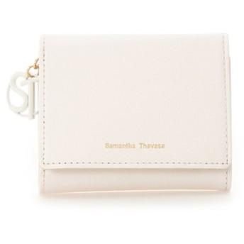 サマンサタバサ STモチーフ 折財布(パステルカラー) レディース オフホワイト FREE 【Samantha Thavasa】