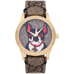《期間限定セール開催中!》GUCCI Unisex 腕時計 サンド ステンレススチール / 革