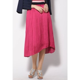 VICKY / ヴィンテージサテンプリーツスカート