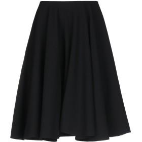 《期間限定 セール開催中》ALEXANDER MCQUEEN レディース ひざ丈スカート ブラック 40 ウール 100%