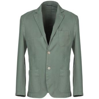 《期間限定セール開催中!》AT.P.CO メンズ テーラードジャケット グリーン 46 コットン 100%