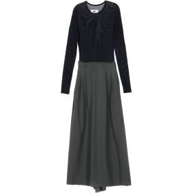 《期間限定セール中》MM6 MAISON MARGIELA レディース ロングワンピース&ドレス ブラック 42 100% ウール ナイロン ポリウレタン