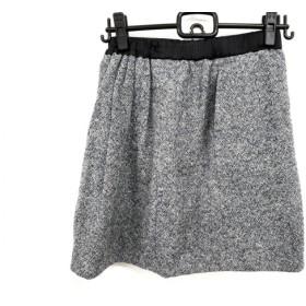 【中古】 ドゥロワー Drawer スカート サイズ36 S レディース 白 黒