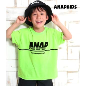 【セール開催中】ANAP KIDS(キッズ)NEONカラーカットオフBIGTee