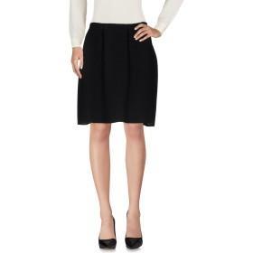 《送料無料》MA'RY'YA レディース ひざ丈スカート ブラック M 100% ウール