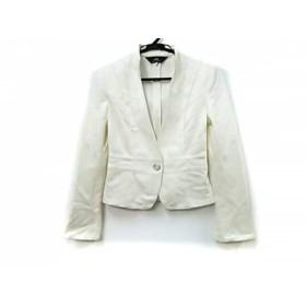 【中古】 イネド INED ジャケット サイズ7 S レディース ホワイト