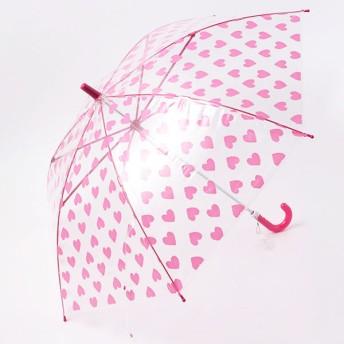 【fururi】ふるり プリント長傘 キッズサイズ ハート