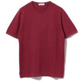 GRAN SASSO / クルーネック T◎ メンズ Tシャツ WINE/288 42