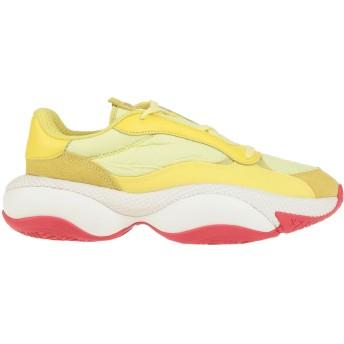 《期間限定 セール開催中》PUMA レディース スニーカー&テニスシューズ(ローカット) イエロー 4 紡績繊維 ALTERATION PN-1