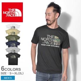 THE NORTH FACE ザノースフェイス Tシャツ ショートスリーブ シンプルロゴティー NTW31932 メンズ