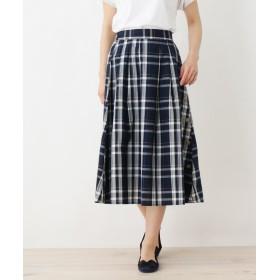 SHOO・LA・RUE/DRESKIP(シューラルー/ドレスキップ) サイドボタンデザインスカート