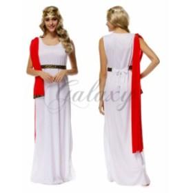 ハロウィン  民族衣装 ギリシャ神話 ローマ 女王 女神 アテナ コスプレ衣装 ps2720