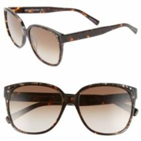 レベッカミンコフ レディース サングラス・アイウェア アクセサリー Rebecca Minkoff Jane1 57mm Sunglasses Dark Havana