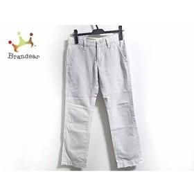 ダブルスタンダードクロージング DOUBLE STANDARD CLOTHING パンツ サイズ36 S レディース 白   スペシャル特価 20190807